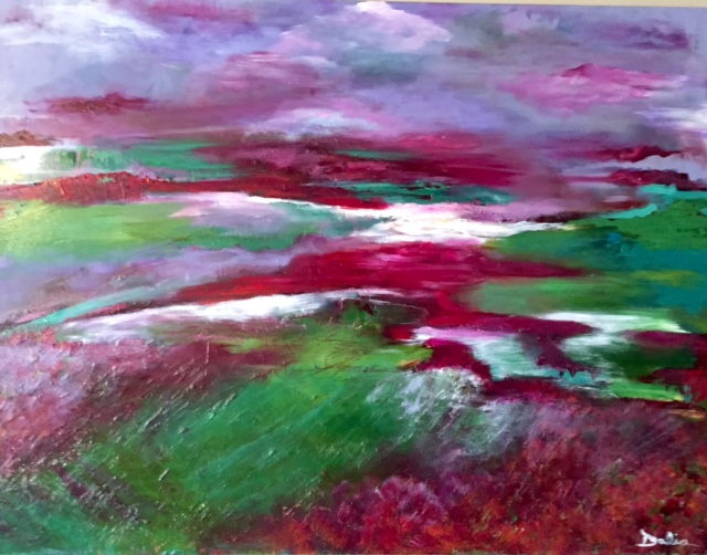 Field of Poppies    30 x 40    $1300