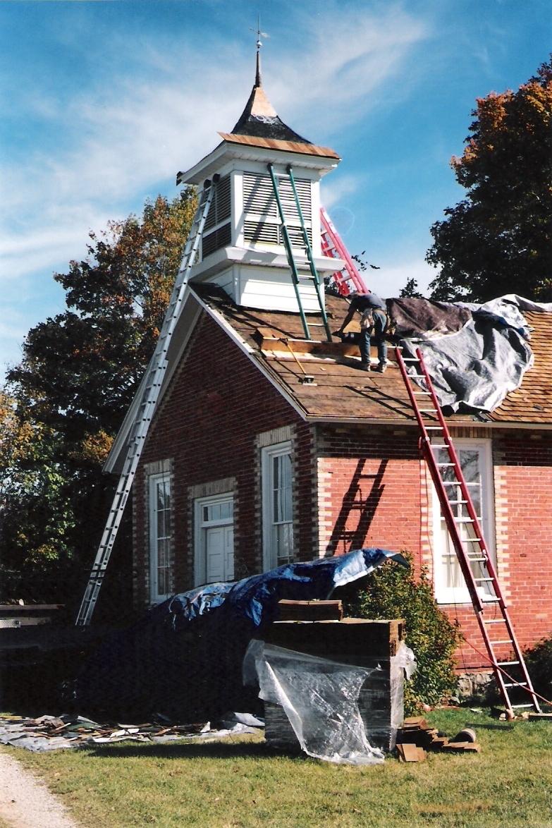 New Cedar Roof / Dawn Stafford 2004