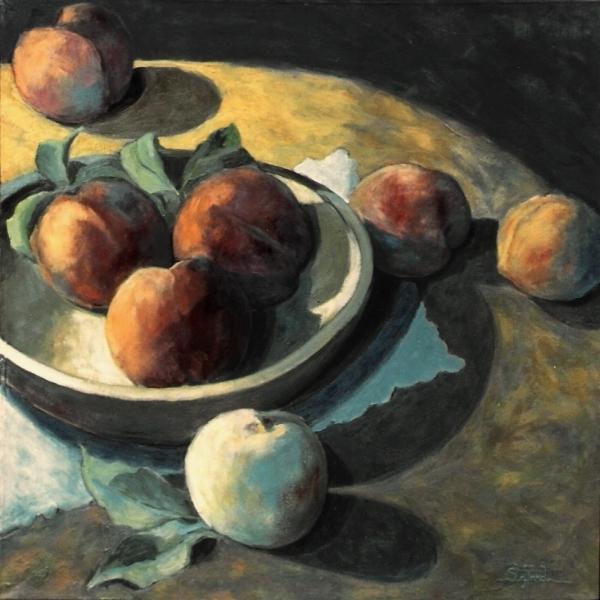 peaches     12 x 13