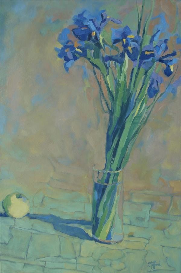 siberian iris   12 x 18