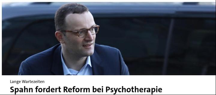 Bundesgesundheitsminister Jens Spahn auf tagesschau.de