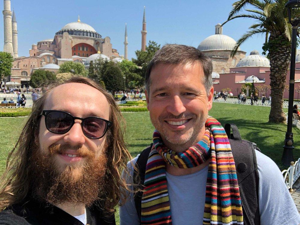 Merhaba aus Istanbul! Die BuzzBird-Gründer Felix Hummel und Andreas Türck