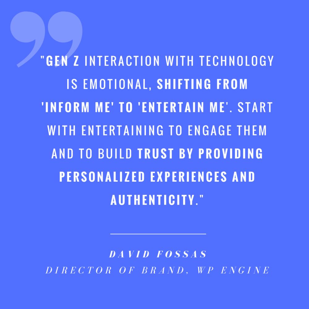 David Fossas von WP Engine über die Generation Z