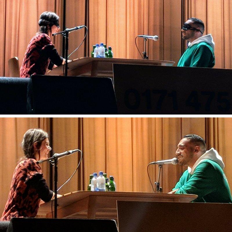 Blind Date-Moment zwischen YouTuberin Joyce Ilg und Rapper Ali As