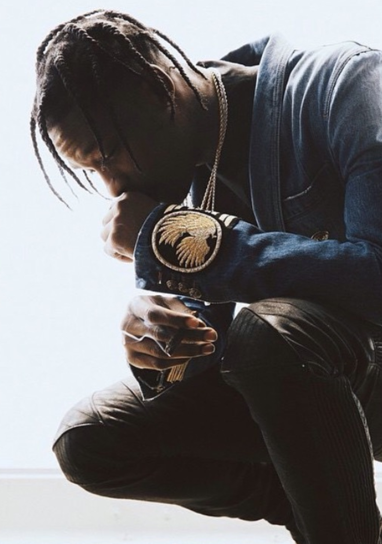 TRAVIS SCOTT   Stylist: Ugo Mozie    Stylist Assistant: Noah Raf