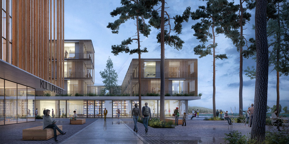RVA has been awarded with an honorable mention in the competition for Huntonstranda Urban Plan in Gjovik, Norway