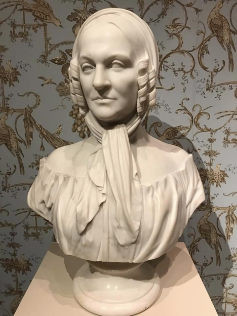 Sarah Worthington King Peter sculpture by Charles Bullet in 1854. She founded the Ladies Academy of Fine Arts in Cincinnati.
