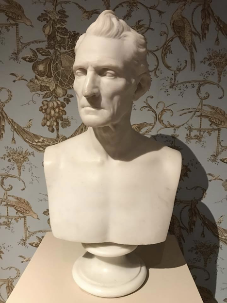 Judge Jacob Burnet, former Ohio Supreme Court Justice, sculpture by Hiram Powers in 1841.