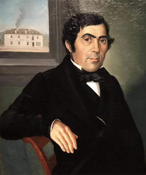 Friedrich Billiods, founder of the former Lafayette Brewery in Cincinnati.