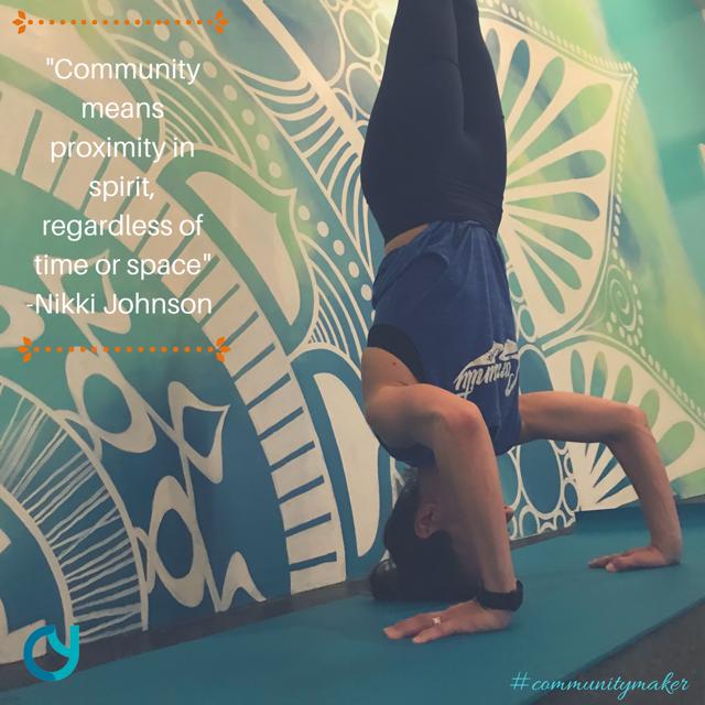 Nikki Johnson Community Yoga