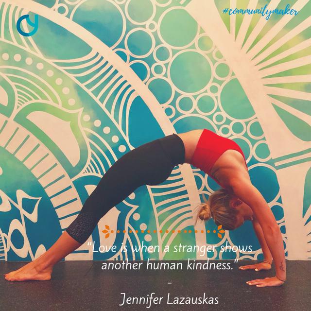 Jennifer Lazauskas Community Yoga