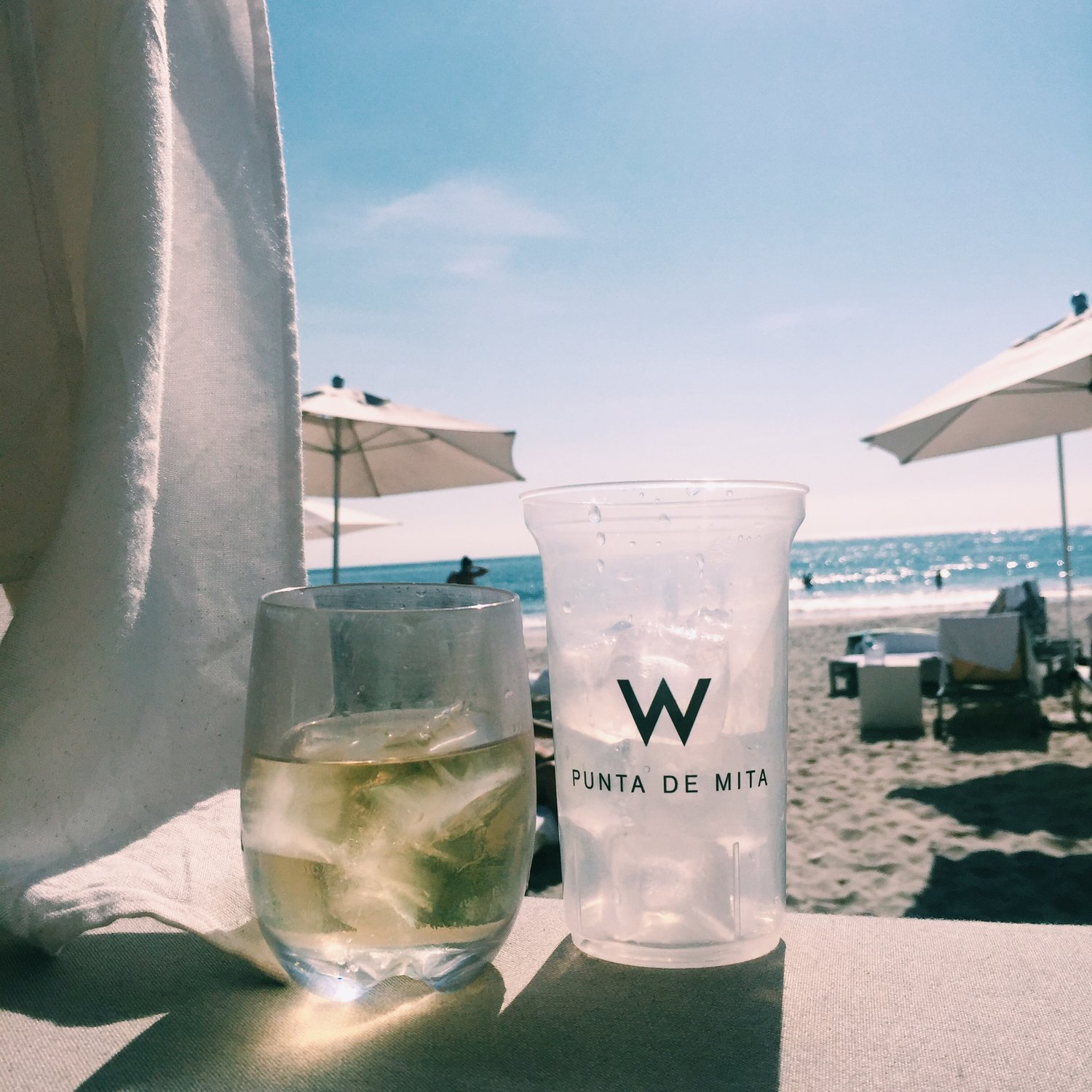 w punta mita beach bar