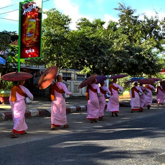 burma myanmar nuns mandalay