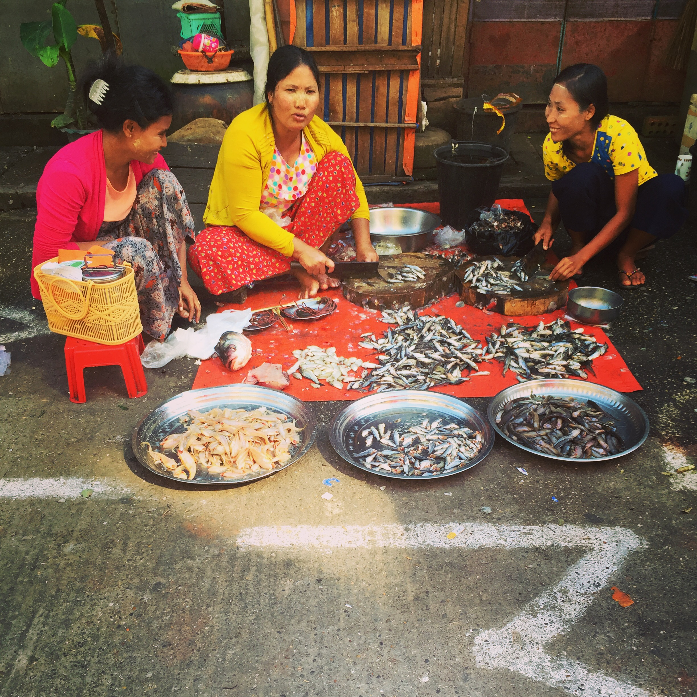 burma maynamr market yangon
