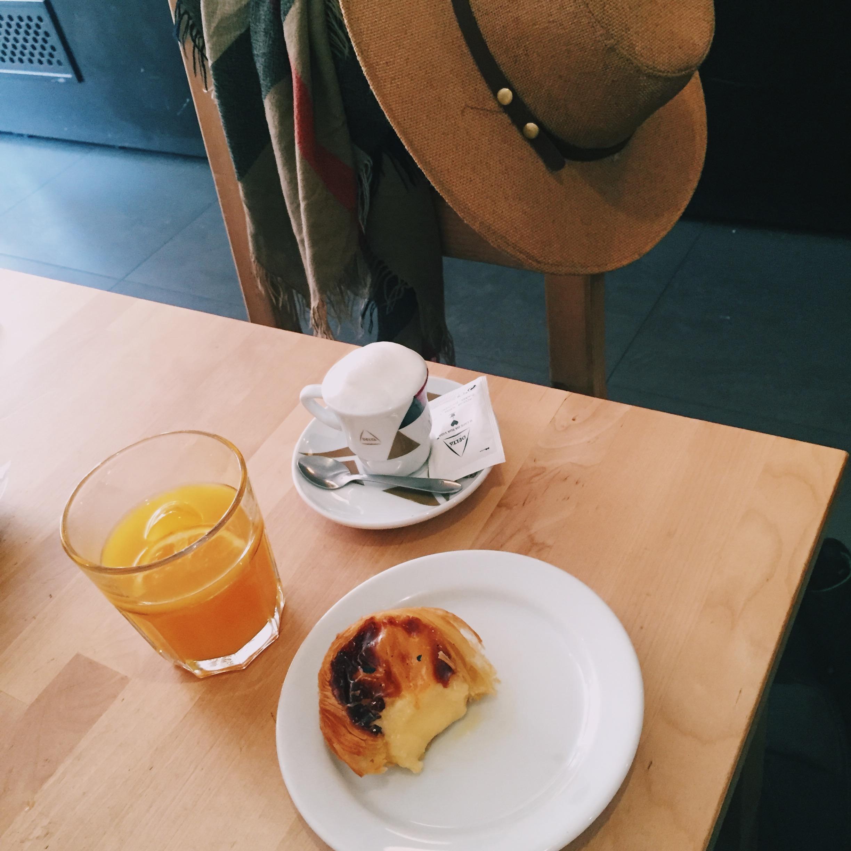 porto pastel de nata breakfast