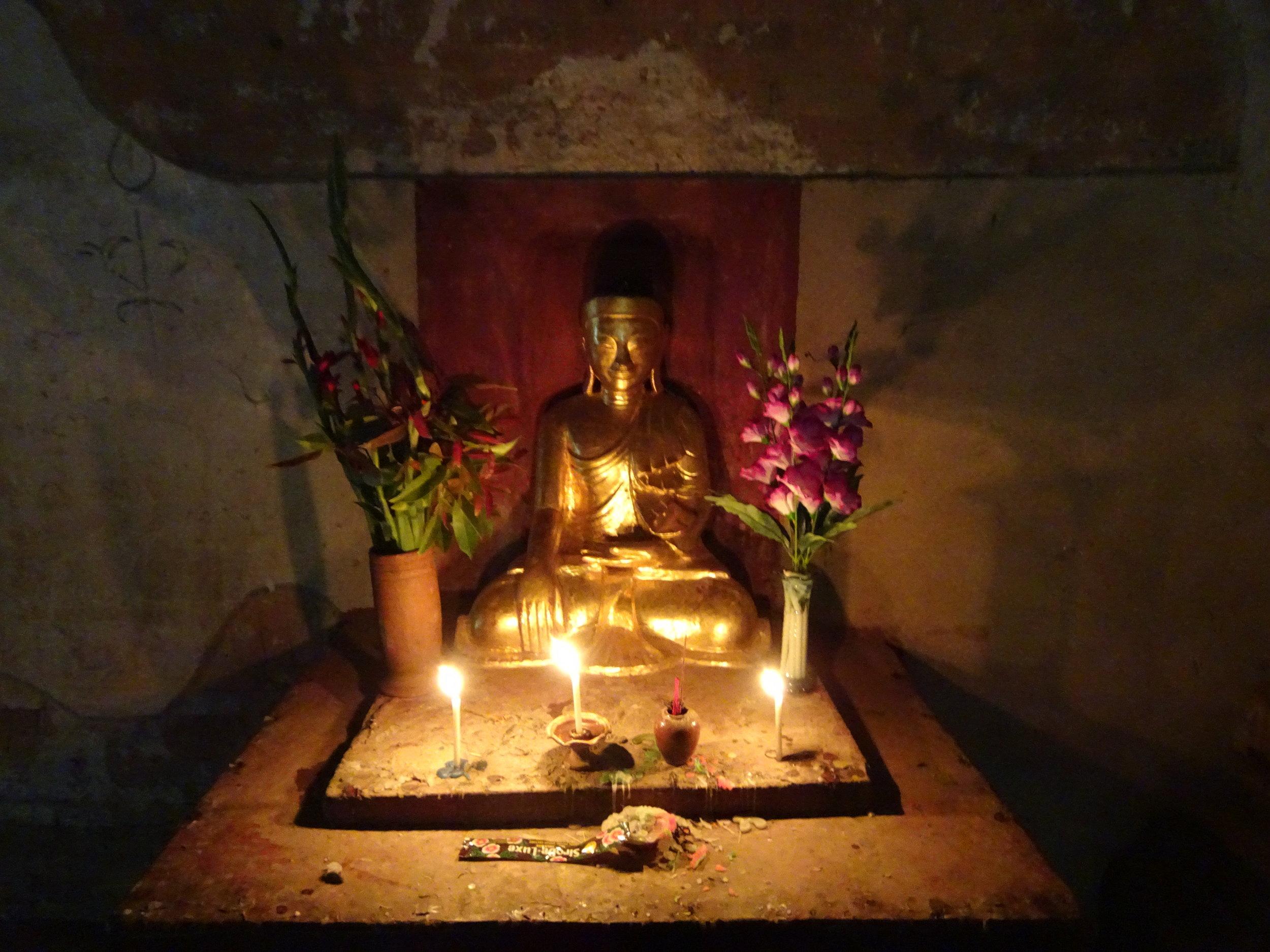 bagan burma buddha