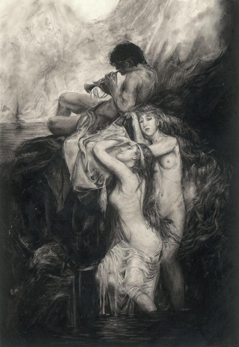 Orpheus Mourning - Reprint Available For Purchase