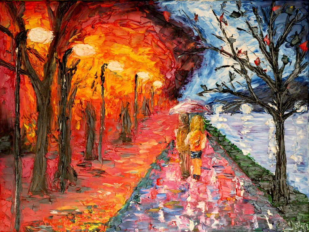 Colorful Lane - Reprint Available For Purchase
