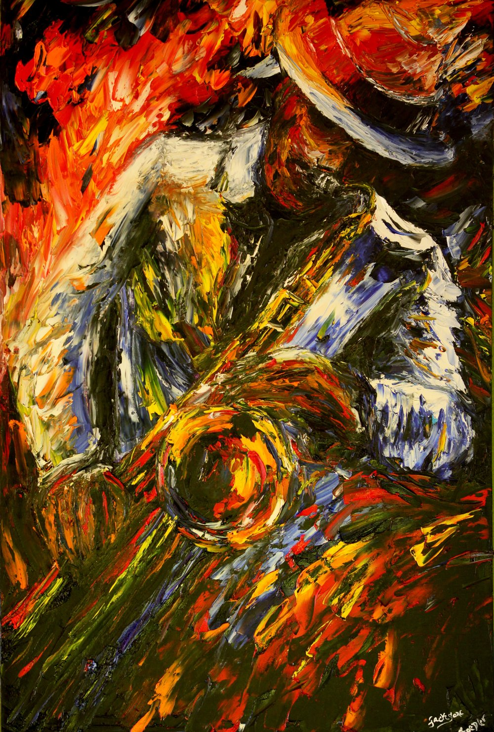 Saxophone - Reprint Available For Purchase