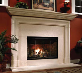 "Heatilator Reveal    View Full Specs   This 36"" open-hearth gas fireplace gets homeowners as close as possible to the experience of a woodburning fire. It also offers a number of benefits that make it a strong all-around choice. It can burn with the optional doors open or closed."