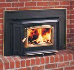 Pacific Energy Pacific Wood Insert    View Full Specs   The Pacific Insert, with its large, ceramic glass door gives you the full comfort and view of your log fire. Transform your drafty fireplace in an easy-to-light, easy-to-load reliable source of heat with the convenience of one-touch adjustable temperature control.