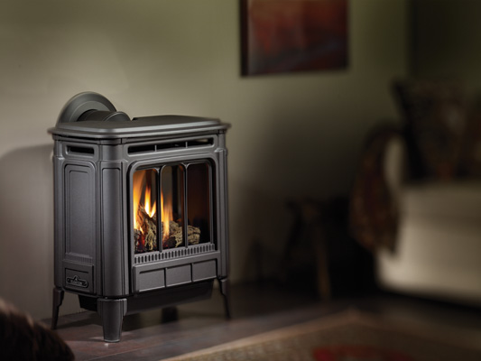 Regency Hampton H27 View Full Specs Style & Performance. The Hampton Medium Gas Stove's beautiful styling is matched only by its authentic fire. The gas flames have been carefully engineered to twist and flicker as real wood flames do - around the most realistic logs available anywhere today.