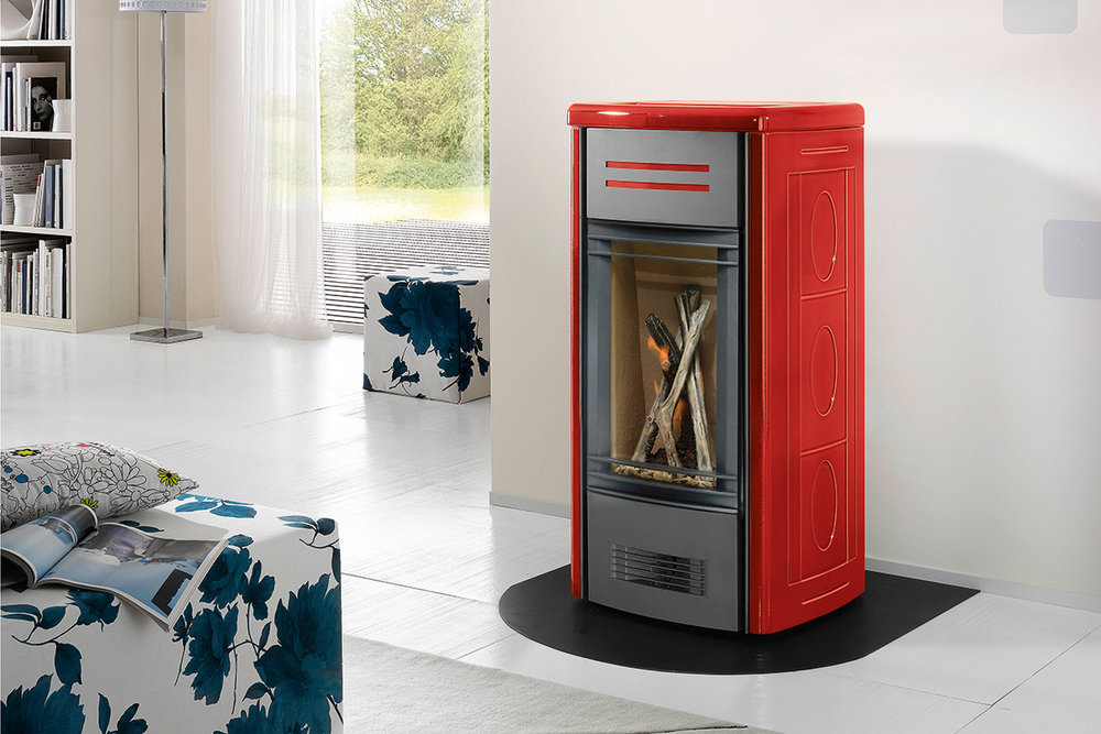 Pacific Energy Piazetta G958 View Full Specs Each stove represents the leading edge of European freestanding design with advanced convection and radiant heating technology.