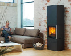 Wittus Cubic Series View Full Specs The Cubic series brings about a new generation of wood burning fire. Among the six models of varying sizes, some are floor models and others are directly attached on the wall. Minimal, yet sophisticated and contemporary