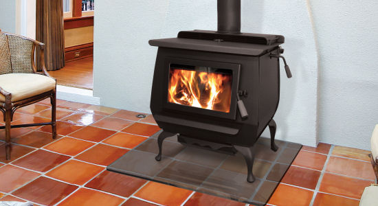 Blaze King Princess View Full Specs The Princess has a large 2.85cu.ft. firebox. All Blaze King catalytic stoves have a thermostat control to allow you to regulate the heat output making them usable in a wide variety of home sizes.