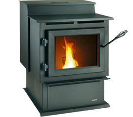 Heatilator Eco Choice View Full Specs The Eco-Choice PS35 medium-sized pellet stove combines dependability and value in a simple design. Its large hopper holds plenty of fuel to deliver warmth and comfort to any room.