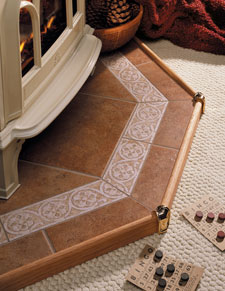 Hearth Classics See Full Selection Hearth Classics tile and stone hearth pads are hand-crafted to provide the ideal foundation for your free-standing gas, wood, pellet, corn, coal or oil stove.