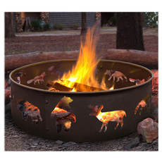 Arctic Outdoor Fire Ring   Enjoy the comfort of a contained fire anywhere, anytime, for any occasion!