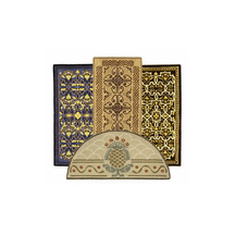 Classic Olefin with jute backing - many styles & colors.