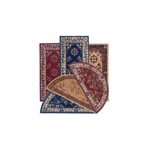 Oriental 100%wool, several designs & colors - half round & rectangular.