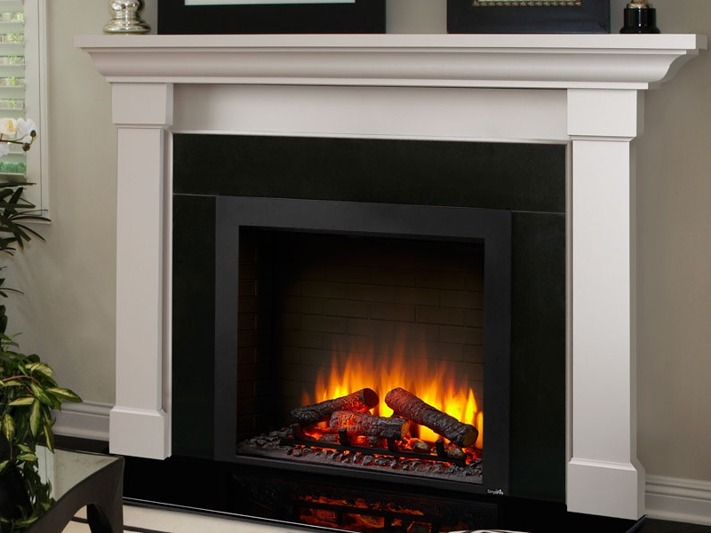 Simplifire Electric Insert    View Full Specs   Traditional has never been this easy. A detailed masonry-style interior, textured log set and 4 flame height adjustments enhance the appeal of these two classic Built-In models. Enjoy the ambiance—with or without the heat
