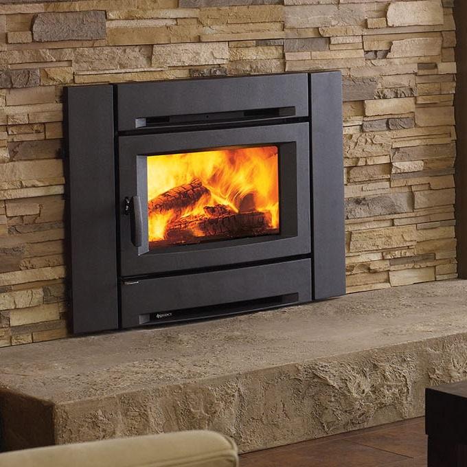 Regency Alterra Wood Insert    View Full Specs   The Alterra contemporary wood insert features a sleek, modern front that transform your fireplace opening into a style savvy, effcient heater. Available in 2 sizes &includes a two-speed blower, helping distribute the heat to the far corners of your living space.