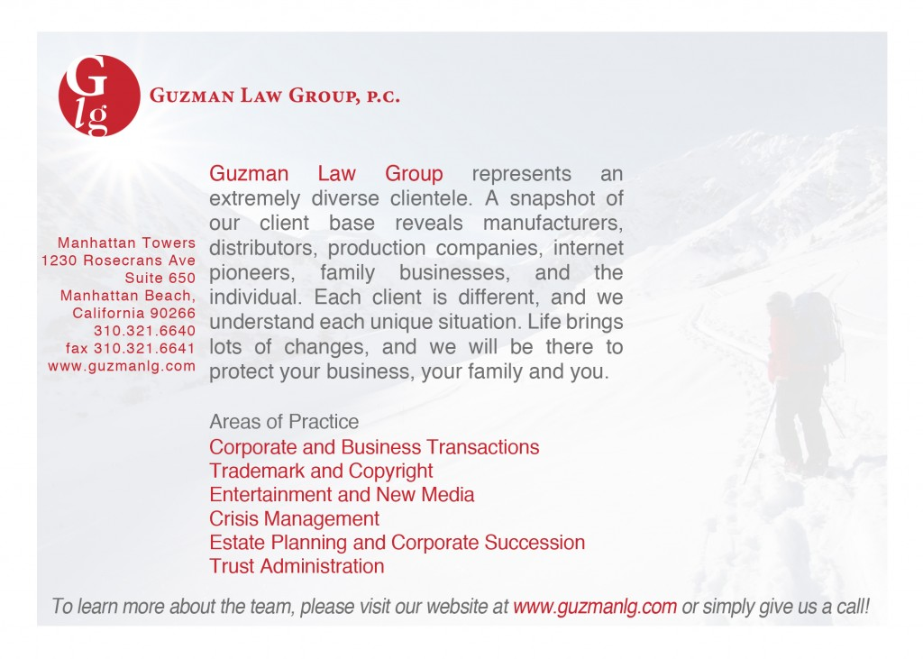 GLG Promo Card March 2010 (back)