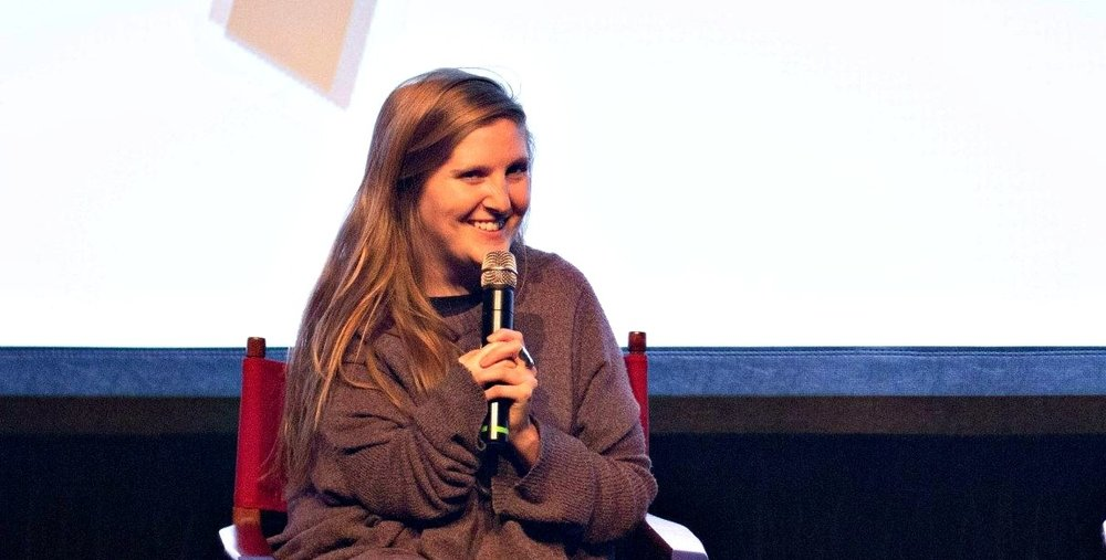 Lindsay MacKay at the SJIWFF 2015 Scene & Heard Conference