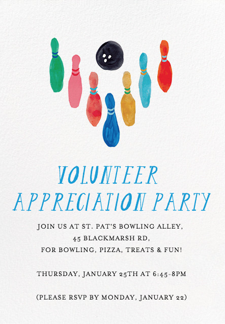volunteer 2018 party