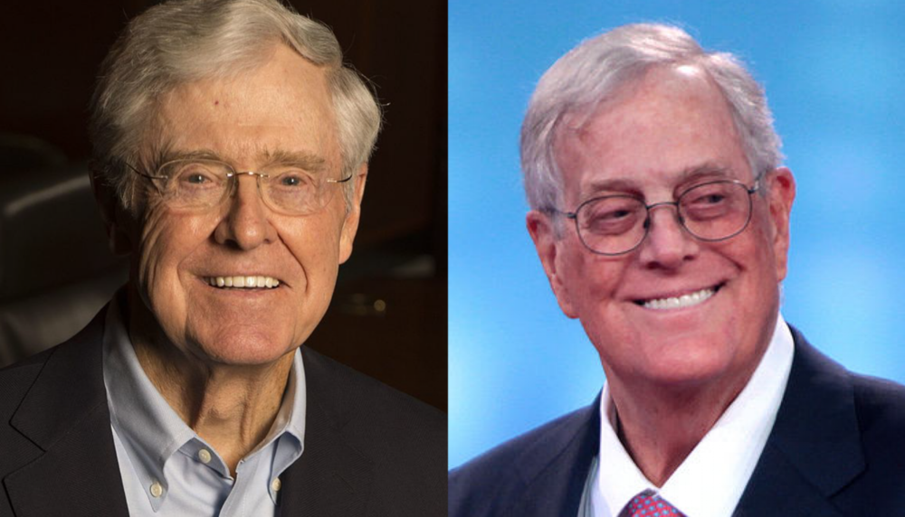 Charles David Koch Brothers Opposition Research