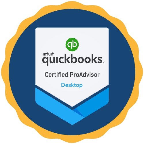 Work closely with a QuickBooks Certified ProAdvisor. -