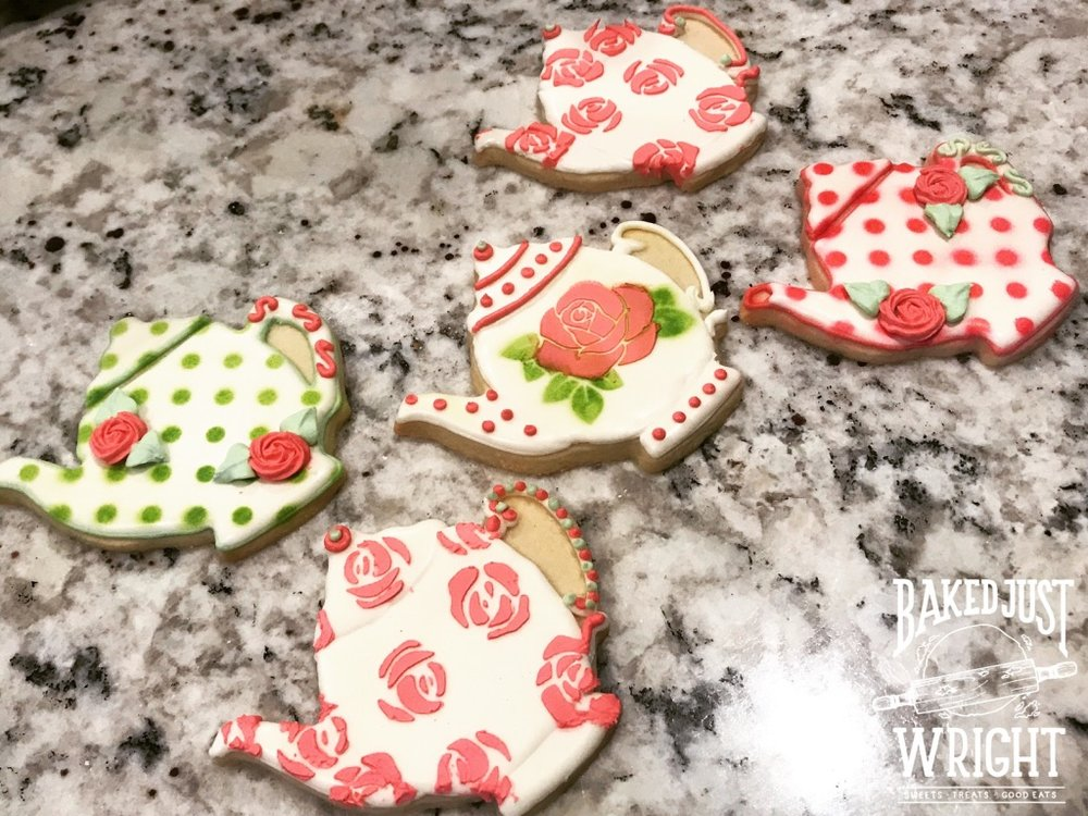 Tea Pot Cookies