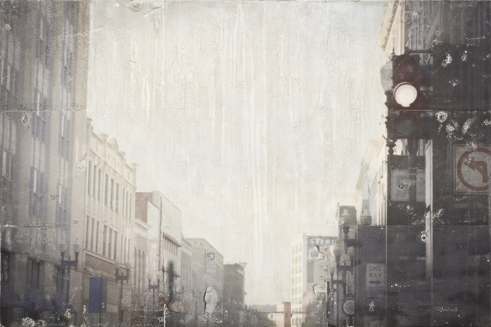 Looking North on Gay Street, 20 x 30 in.