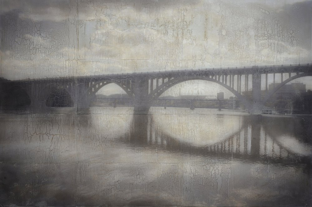 Henley Street Bridge, 24 x 36 in.