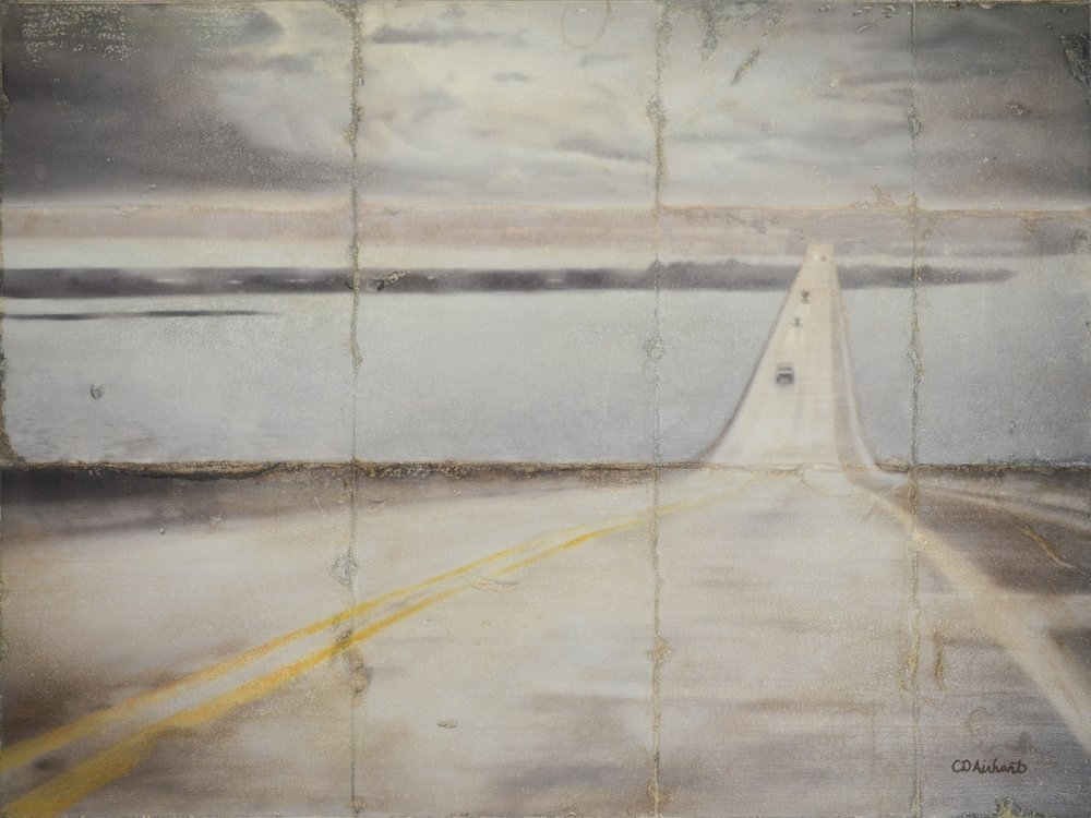 Bridge to Dauphin Island, 18 x 24 in.
