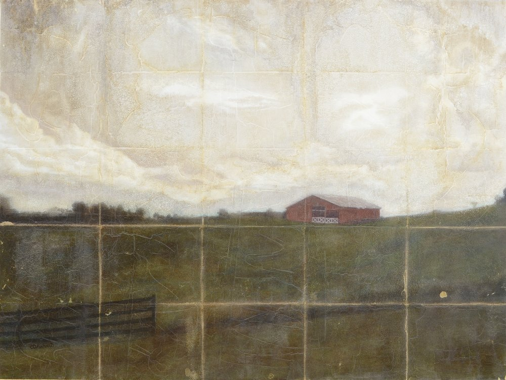 Sepia Dream: Grainger County Barn, 30 x 40 in.