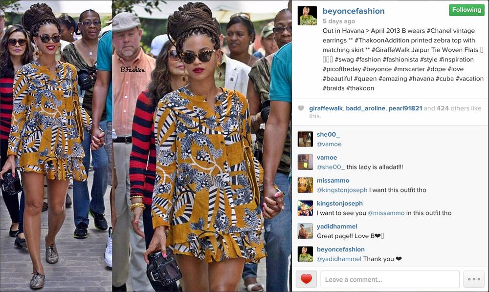 Beyonce and Jayz CUBA