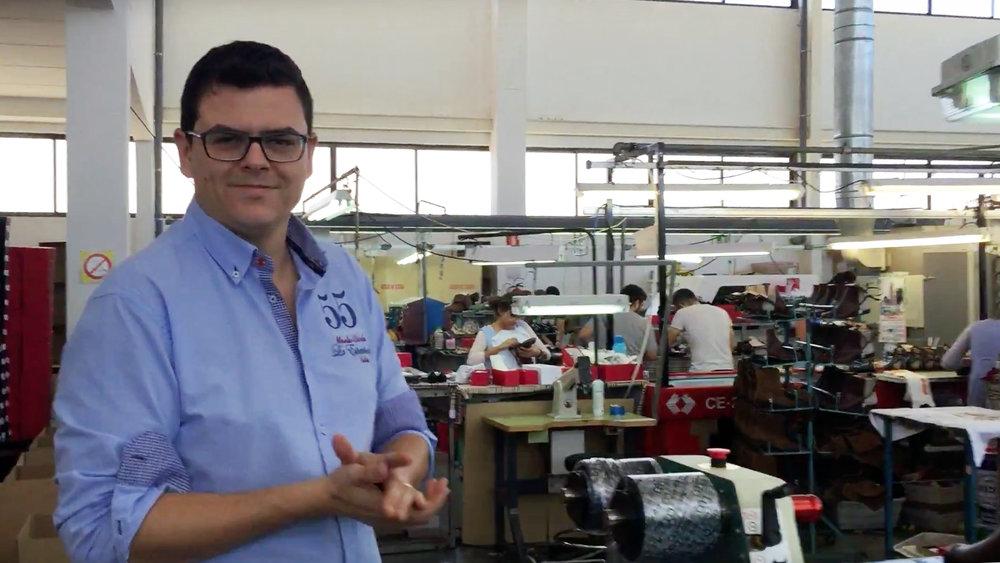 Ramon Tendero second generation Spanish shoe manufacturer