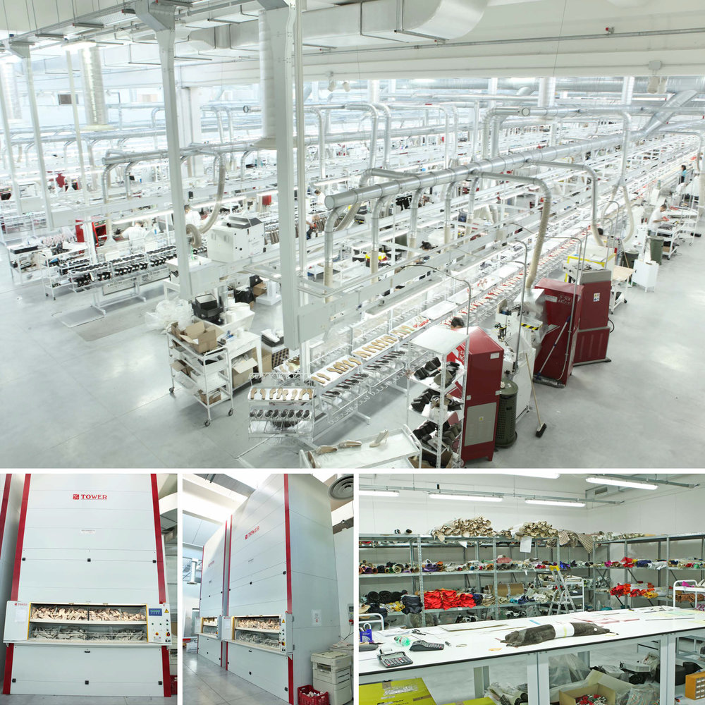 a state-of-the-art MACSENIOR designed shoe factory for a high fashion international shoe brand