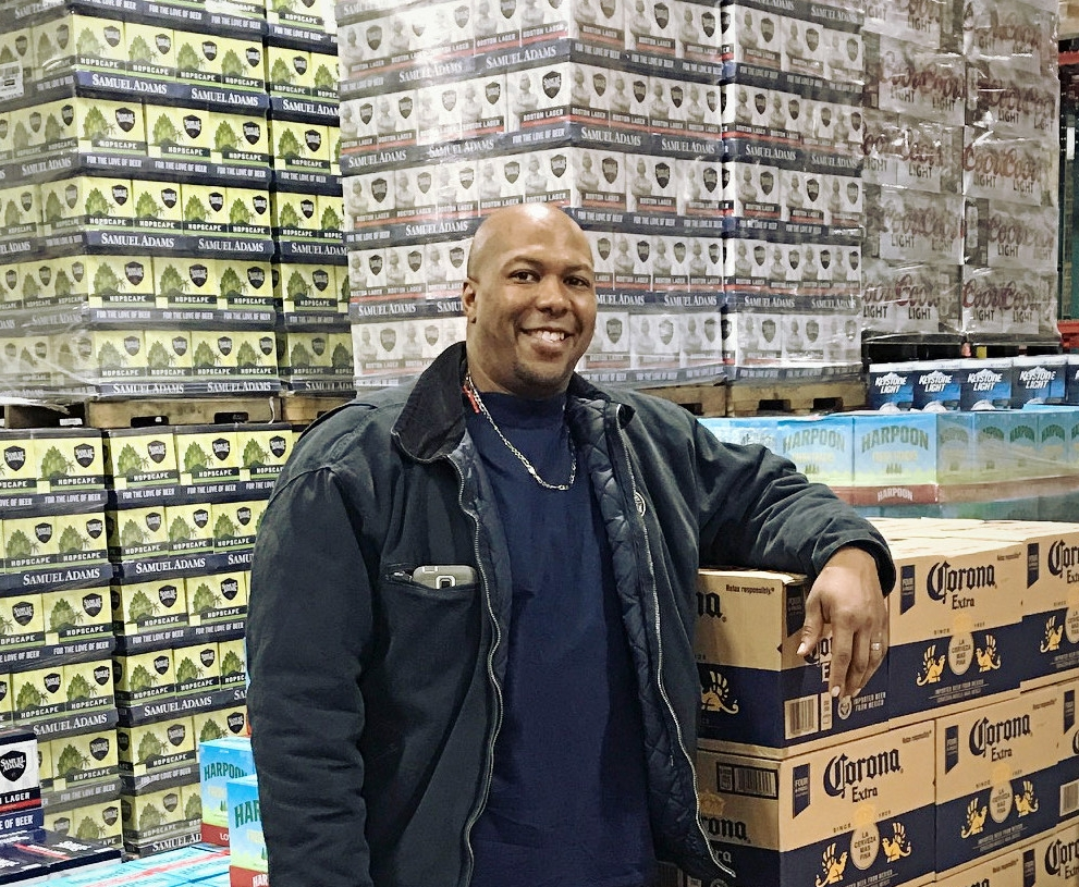 Mario Edmonds, Warehouse Forklift/Truck Driver, Merrimack Valley Distributing
